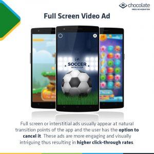 Full Screen Video Ad