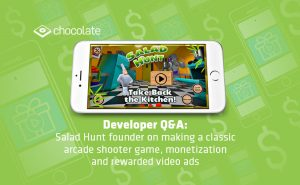 Developer Q&A: Salad Hunt founder on making a classic arcade shooter game, monetization and rewarded video ads