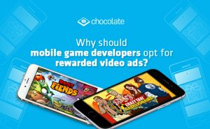 Why should mobile game developers opt for rewarded video ads?