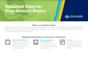 Importance of Rewarded Video Ads for Programmatic Buyers