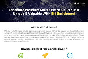 Chocolate Premium + Bid Enrichment