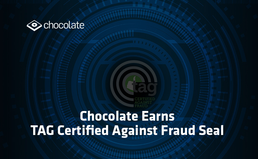 Chocolate Earns TAG Certified Against Fraud Seal